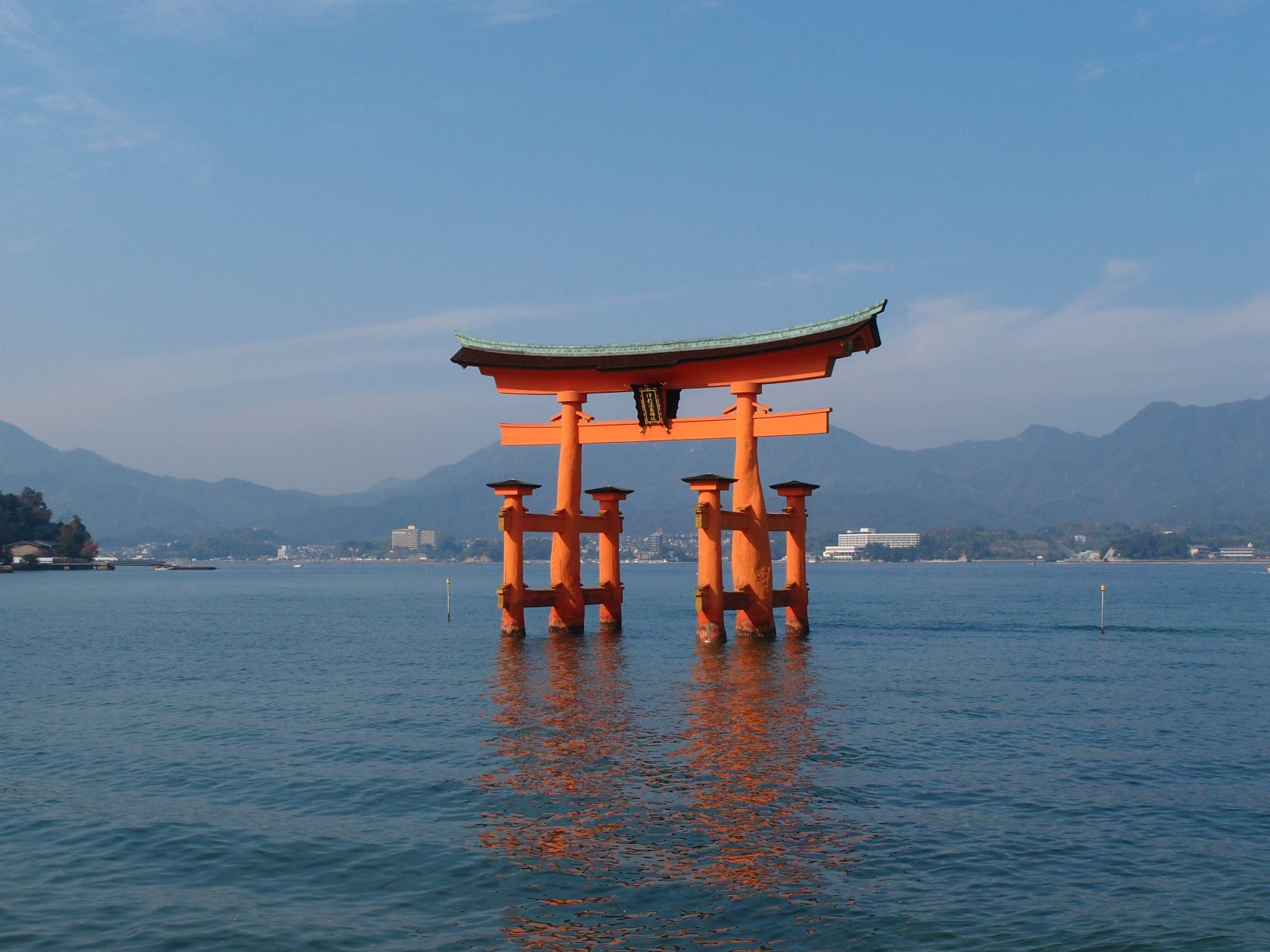 広島旅行にて厳島神社1
