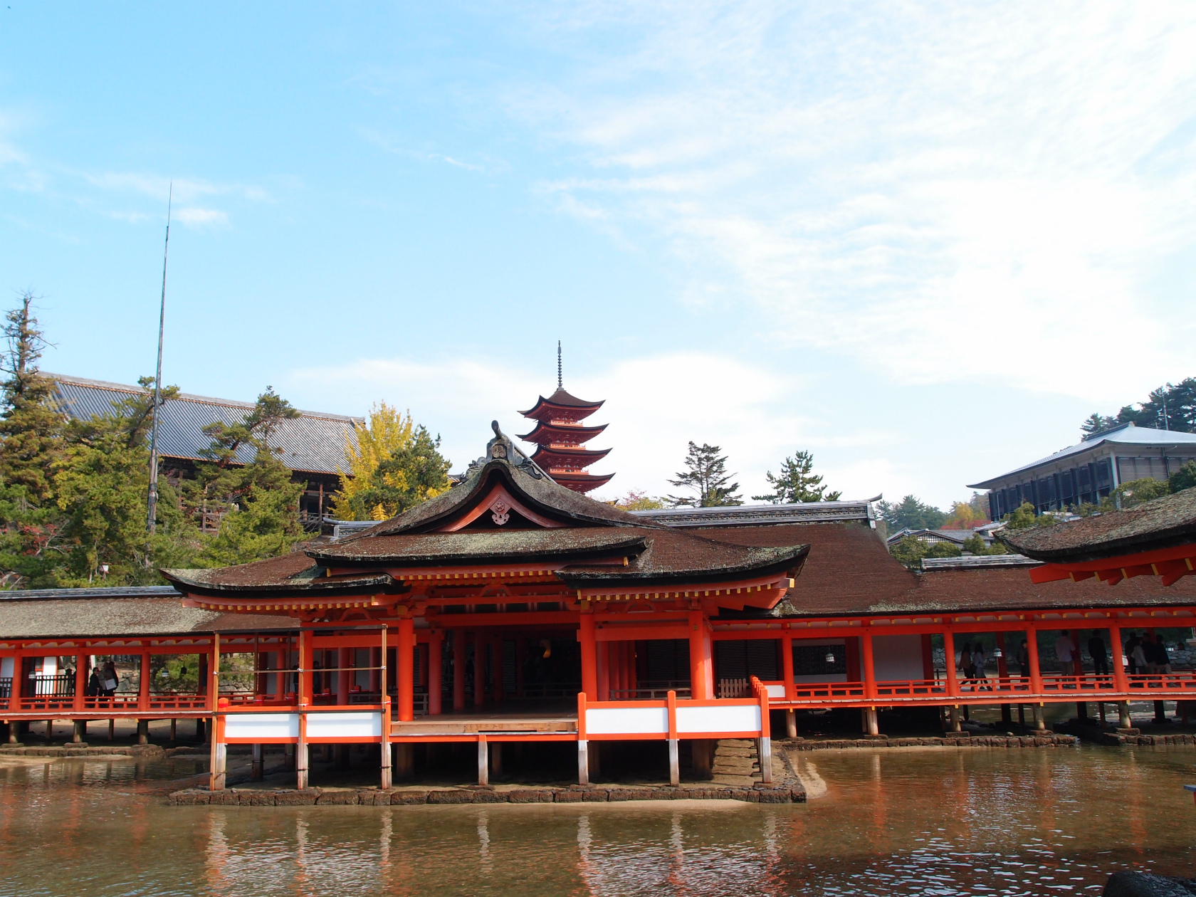 広島旅行にて厳島神社2