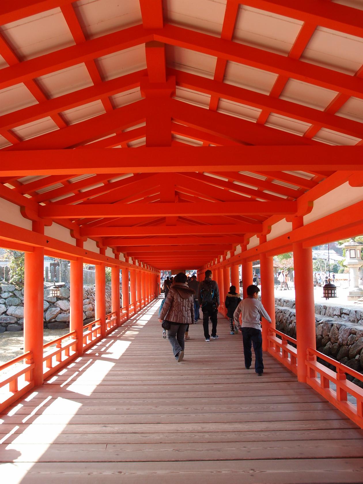 広島旅行にて厳島神社3