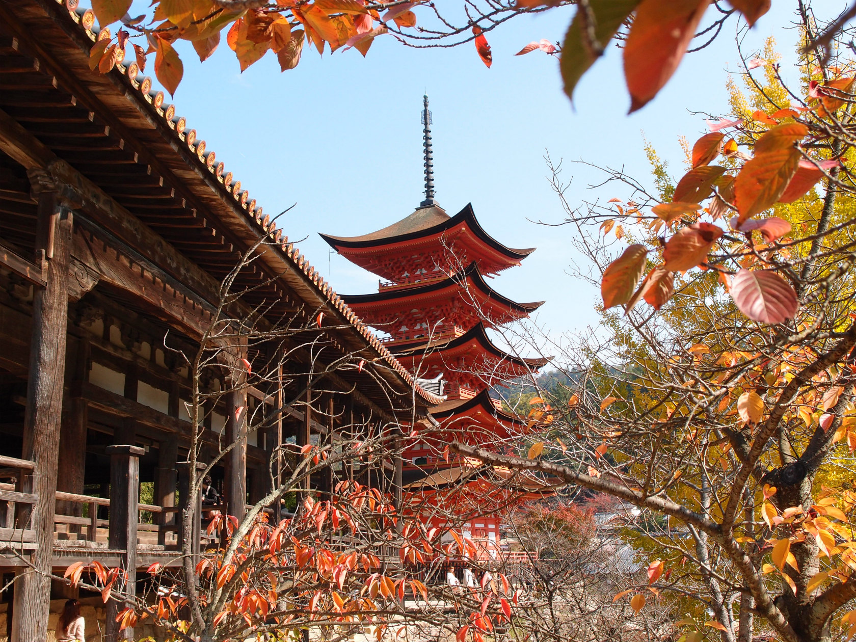 広島旅行にて厳島神社4