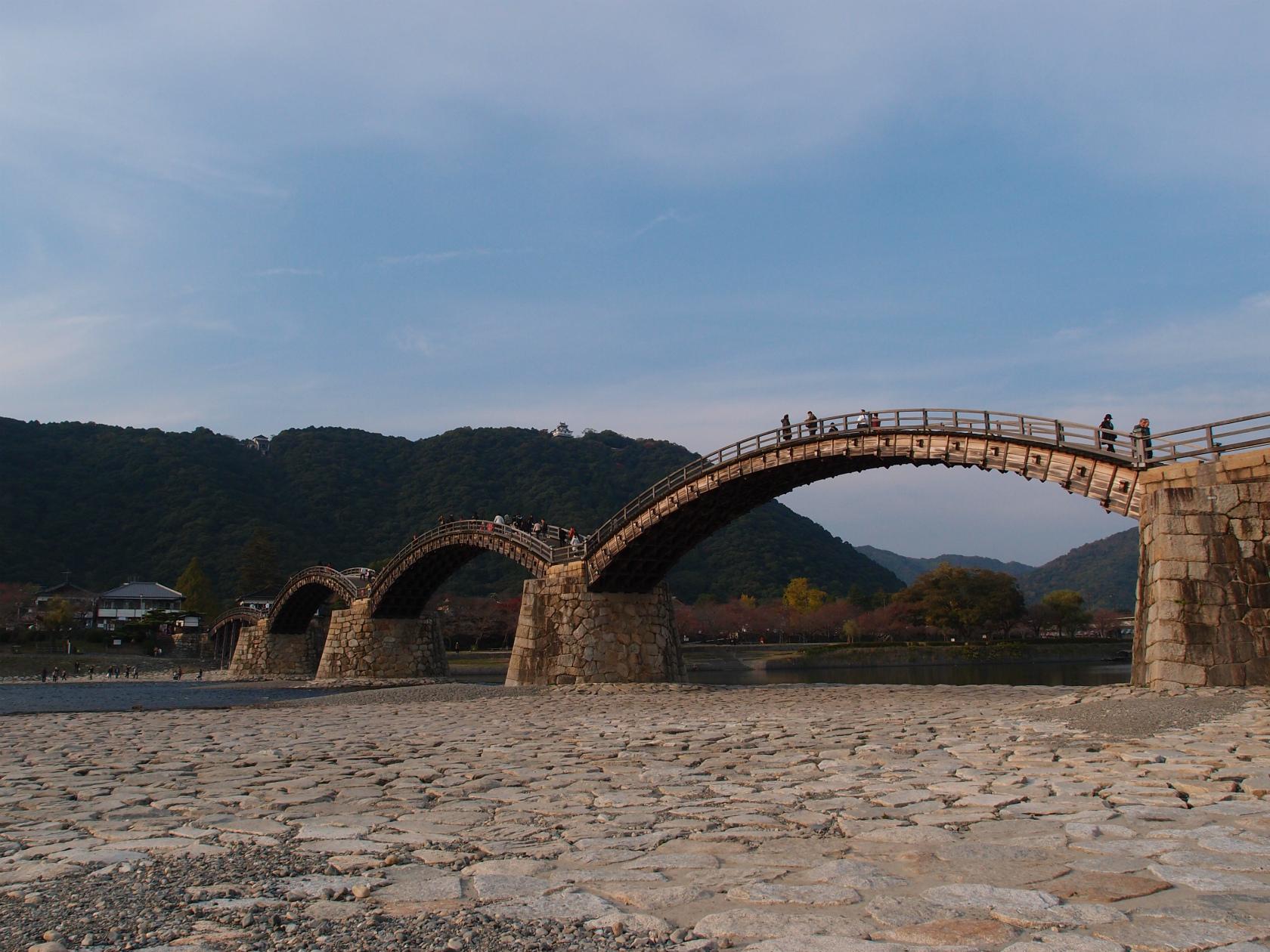 広島旅行にて錦帯橋