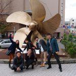 広島での集合写真